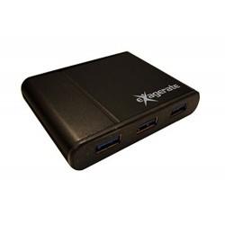 Hamlet XUSB340HP - HUB 4 Porte USB 3.0 5 Gbit/sec
