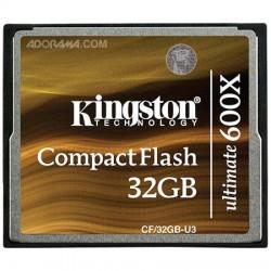 Kingston 32GB 600X Ultimate Compact Flash Card