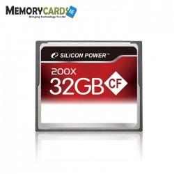 MEMORIA CF 32GB 200X SILICON