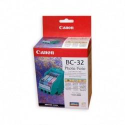 CANON BC-32 CARTUCCIA+TESTINA ORIGINALE PC/PM/PBK BJC6000