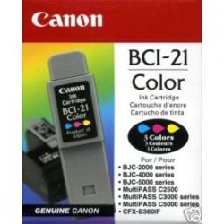CARTUCCIA CANON BCI-21 COLORE (3X5ML) ORIGINALE