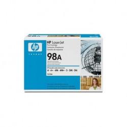 HP TONER NERO 92298A 98A - 6800 COPIE