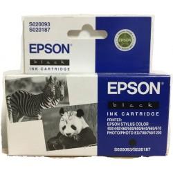 Cartuccia EPSON S020093/S020187 Nera Black K Per Stylus Color 400 Series