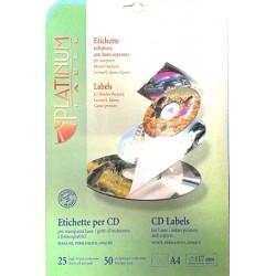 ETICHETTE PER CD DIAM 117 + SOFTWARE