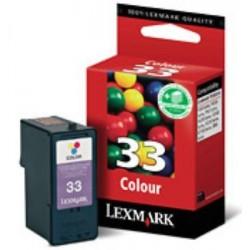 Cartuccia Originale Lexmark 18CX033E 33 COLORE