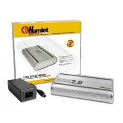BOX HAMLET HD 3.5 S-ATA + USB 2.0
