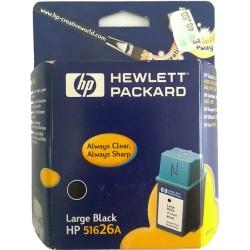 CARTUCCIA HP 26 Ink Cartridge Large Nero Originale (51626AE)