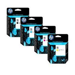Cartuccie d'inchiostro HP 11 (C-M-Y)