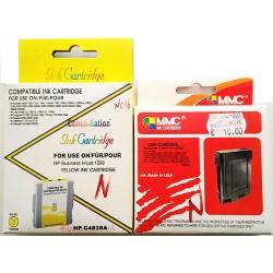 Cartuccia d'inchiostro HP 11 GIALLO (C4838A) COMPATIBILE