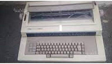 MACCHINA PER SCRIVERE ELETTRONICA RANK XEROX 6020 NUOVA - (RARITÁ)